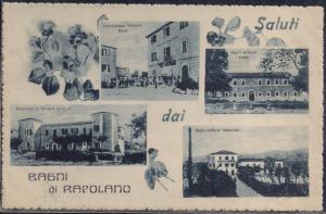 Una vecchia cartolina dai Bagni di Rapolano